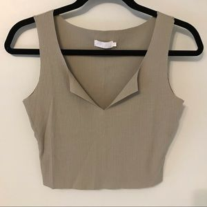 Meshki Cropped Tank Top xs